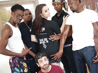 Chanel Preston Interracial Anal Gangbang - Cuckold Sessions