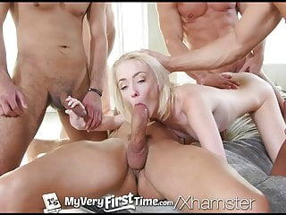 4K MyVeryFirstTime - Pornstar Maddy Rose first gangbang