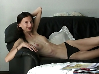 Super Skinny Ioana dressing and undressing