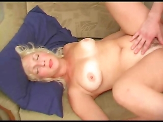 Russian Mature Darina and her son