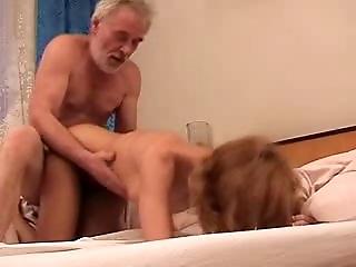 Old man fuck girl full tape