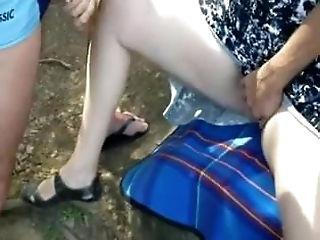 Outdoor wife dogging