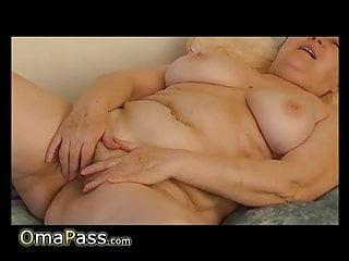 OmaPasS Homemade Mature Erotic Stimulation Video