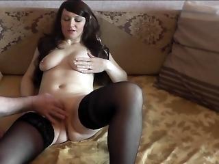 Nipple stimulation, clitoris, pussy masturbation. Squirt, orgasm, close up.
