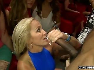 Cock Sucking Ladies Are Party Animals