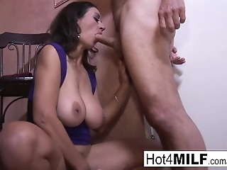 Hot MILF Persia is craving more cock and a creampie