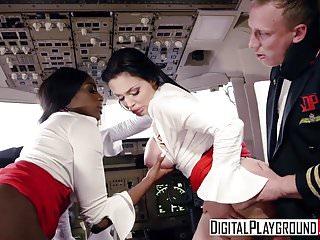 DigitalPlayground - Fly Girls Final Payload Scene 3 Aletta O