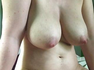 Big boobs cameltoe slide cumshot