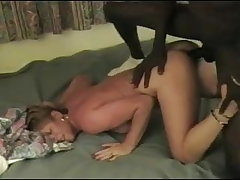 Cuck hubby directs, BBC cums, wife is happy