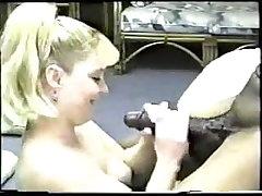 Hot Blonde Wife Enjoys a Big Black Cock.elN