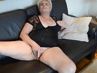 Old granny heidi in mini dess