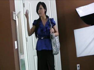 Mom Gives a Handjob