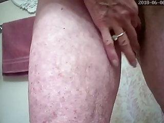 Hidden big clit masturbation