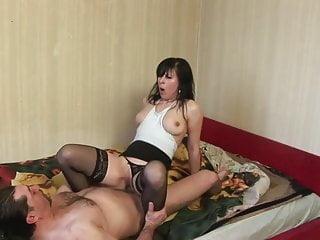 Real beginner slut mom first time