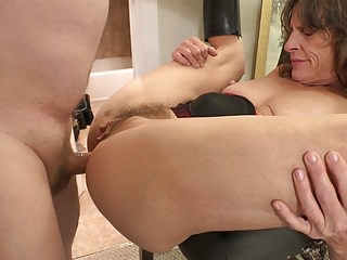 Poor Granny Gets Butt Fucked ANAL ABUSE