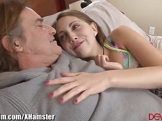 Teen gets Ass fucked by friends Daddy