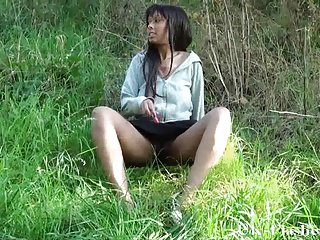 Public nudity and ebony amateur teens outdoor flashing