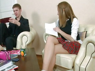More School Girl Porn from Russia