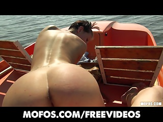 Public Pickups - Gorgeous sun-tanning Czech fucked on a boat