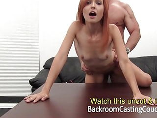 hot Redhead Ass Fucked and Creampie