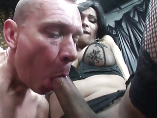 He loves the cock