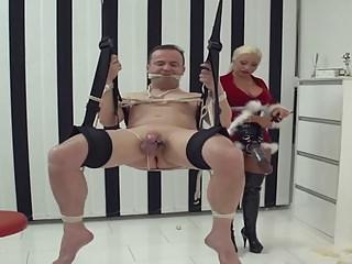 Mistress gives Slave a Christmas Bonus