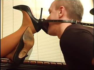 Madame Kyra and slave