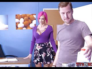 New Hot Teacher is Horny for Student Cock