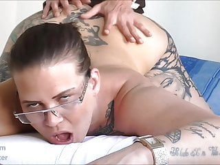 Lana Diamant dirty talking German Tattoo MILF
