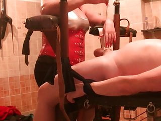 Mistress Long Red Nails Torture