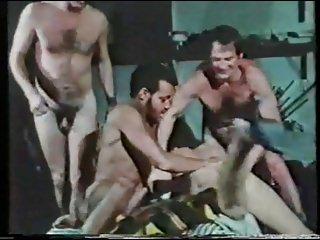 Vanessa Del Rio's 1st gangbang scene