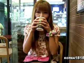 KOREA1818.COM - Horny Korean Girlfriend Filmed on Date