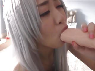Hot Asian cosplay