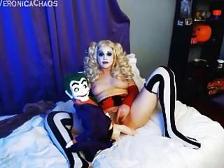 Harley Quinn fucking the Joker