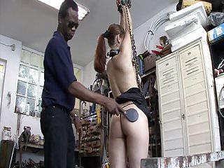 Devot sluts gets punishment in the garage