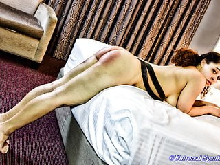 A Naked Strapping - (Spanking)