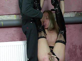 Brackets for the naughty slut