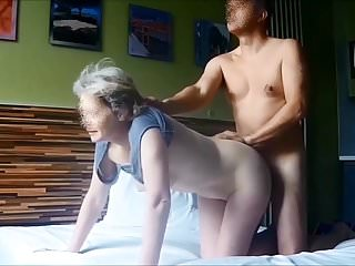 Fucking my wife 22 - hidden cam