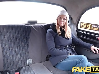 Fake Taxi Czech beauty with nice shaved tight pussy