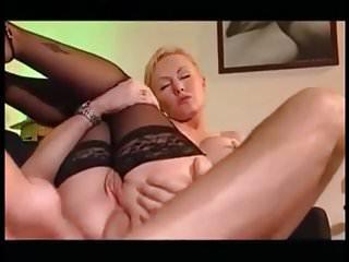 blonde milf anal hardcore