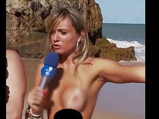 Juju Salimeni E Nicole Bahls (PRAIA NUDISMO) Panico na tv