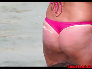 Sexy Bikini Thong Milf beach Voyeur HD Video Spy Cam