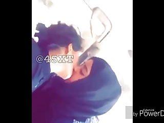 hijab kiss