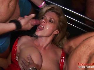 Part1+2: Cunt Pierced Blonde Gets Multiple Cumshots