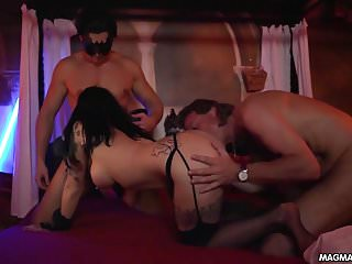 Gangbang at Swingers club