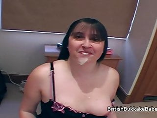 Housewives taking cum shots in mouths