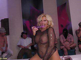 big boob flexible Milfs first gangbang