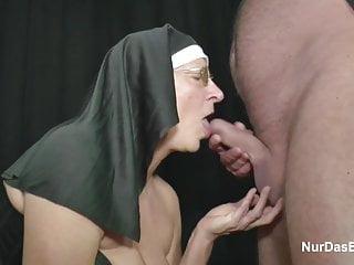 German Granny MILF Make Porn Casting for Money for Church