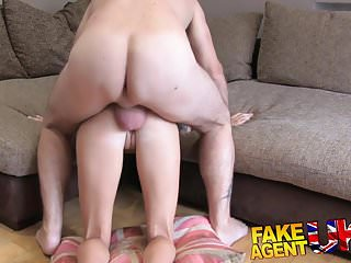 FakeAgentUK Petite UK babe tries first time anal