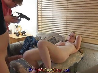 Naughty Teen Blonde Has NOT Her brother Film Her Porn